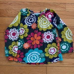 Carter's Size 4 flower power tunic top shirt